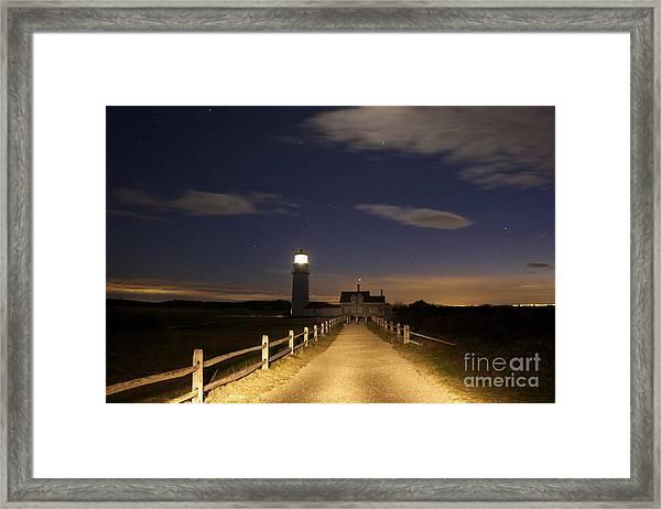 Highland Light North Truro Framed Print