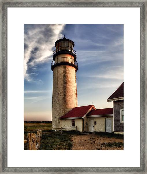 Highland Lighthouse Framed Print