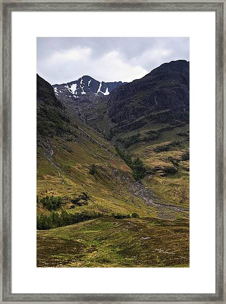 Highland Peak Framed Print