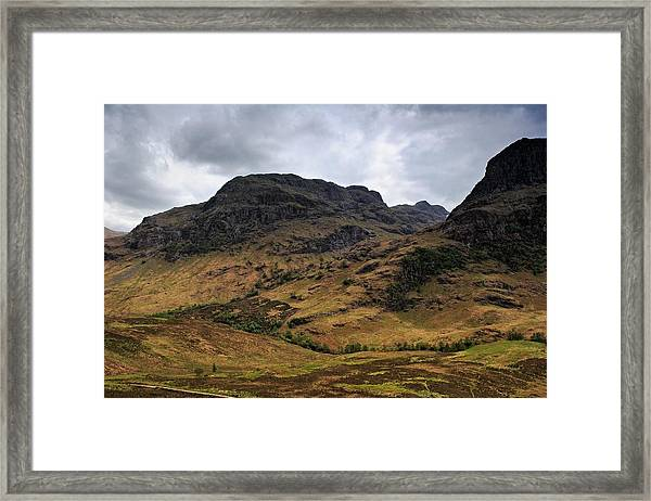 Highland View Framed Print