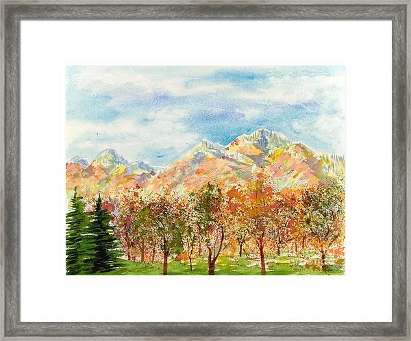 Highlands Autumn Framed Print