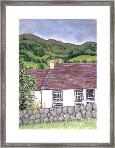 Highland Farmhouse Framed Print