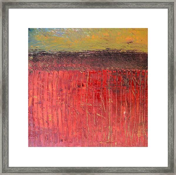 Highway Series - Cranberry Bog Framed Print