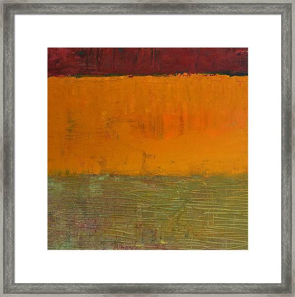 Highway Series - Grasses Framed Print