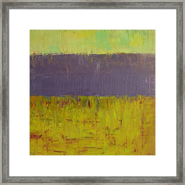 Highway Series - Lake Framed Print