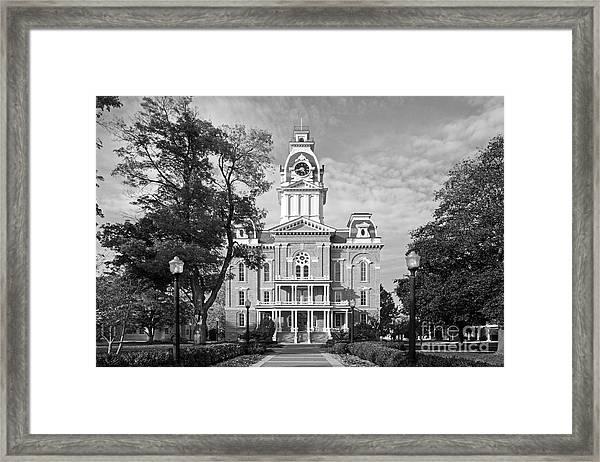 Hillsdale College Central Hall Framed Print