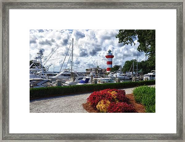 Hilton Head Lighthouse Framed Print