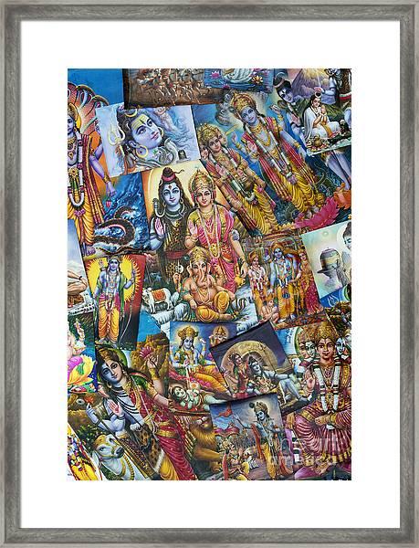 Hindu Deity Posters Framed Print