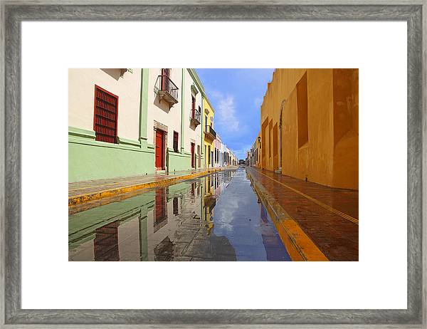 Historic Campeche Mexico  Framed Print