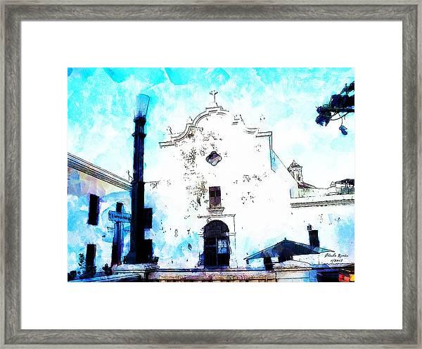 Historic Church Framed Print