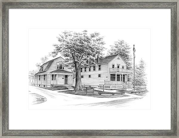 Historic Jaite Mill - Cuyahoga Valley National Park Framed Print