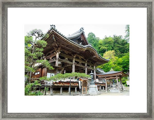 Historic Japanese Temple Framed Print