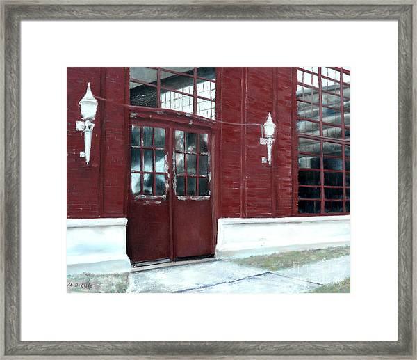 Historic Mcneill Street Pumping Station Shreveport Louisiana Framed Print
