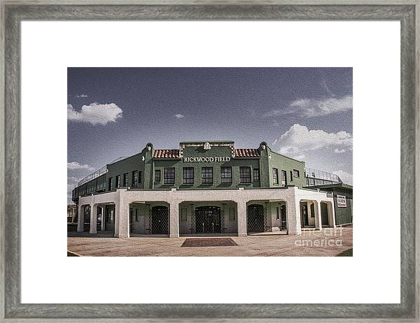 Historic Rickwood Field Framed Print