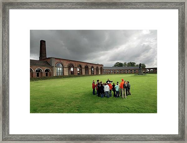 Historical Mining Complex Framed Print