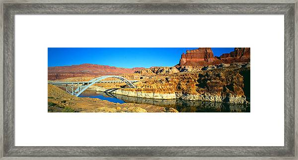 Hite Overlook And Cataract Canyon Framed Print