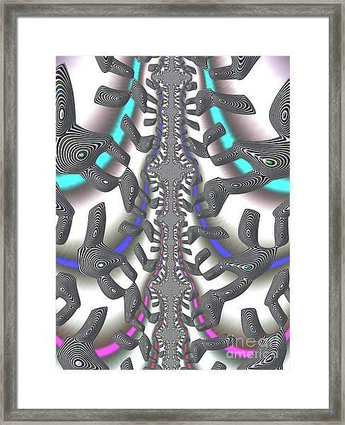 Hj-way Forward Framed Print