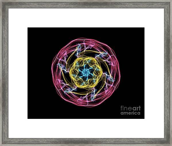 Hj-whisp Flower Framed Print