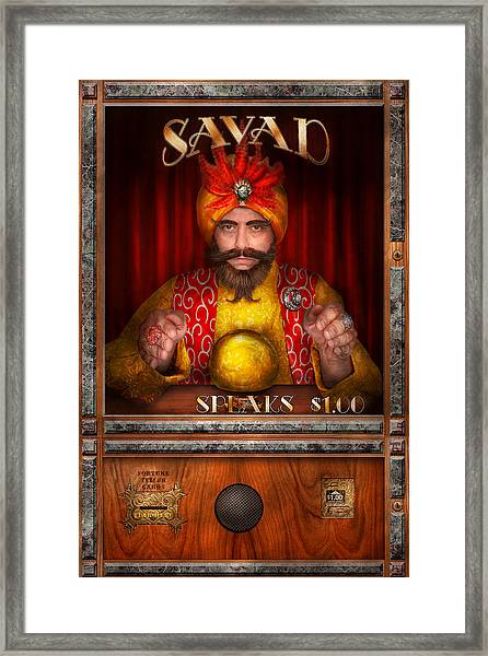 Hobby - Have Your Fortune Told Framed Print