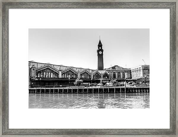 Hoboken Terminal Tower Framed Print