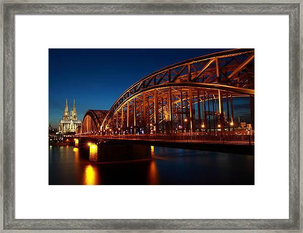 Hohenzollern Bridge Framed Print