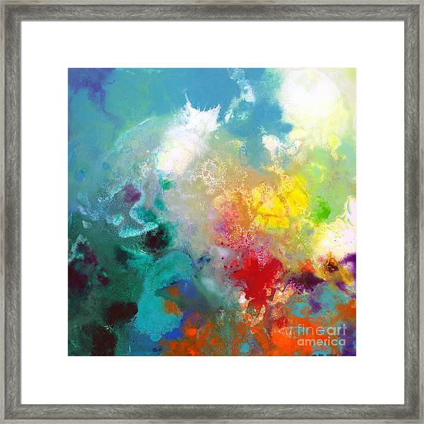 Holding The High Watch Canvas One Framed Print