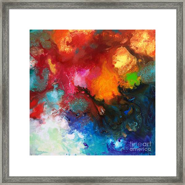 Holding The High Watch Canvas Three Framed Print