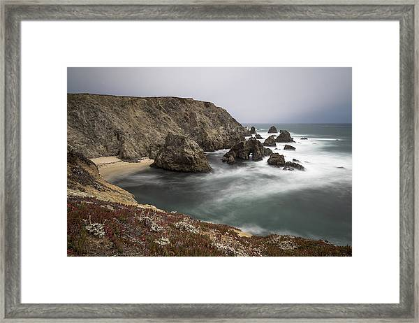 Hole In The Head Framed Print