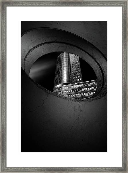 Hole Framed Print