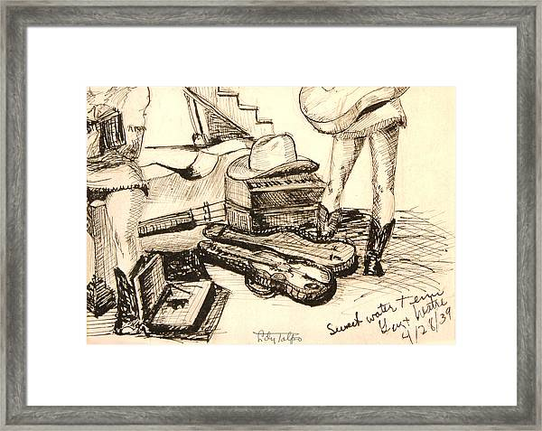 Hollywood Cowgirls At Sweetwater  Framed Print