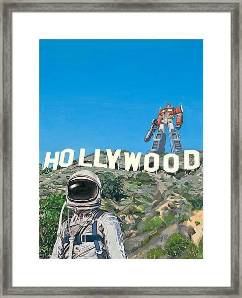 Hollywood Prime Framed Print