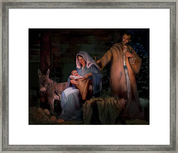 Holy Child Framed Print