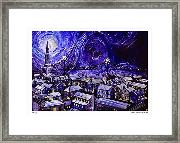 Holy City Framed Print