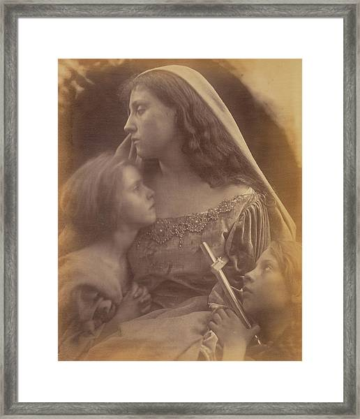 Holy Family Julia Margaret Cameron, British Framed Print