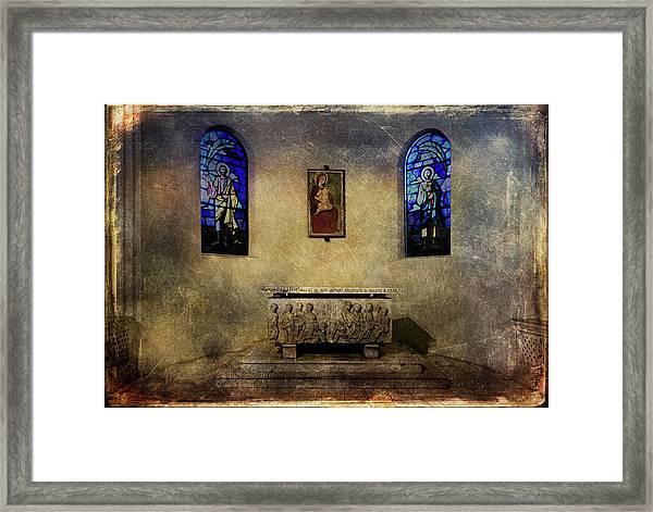 Holy Grunge Framed Print