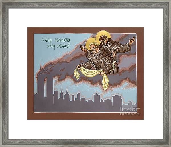 Holy Passion Bearer Mychal Judge 132 Framed Print