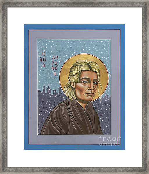 Holy Prophet Dorothy Day 154 Framed Print