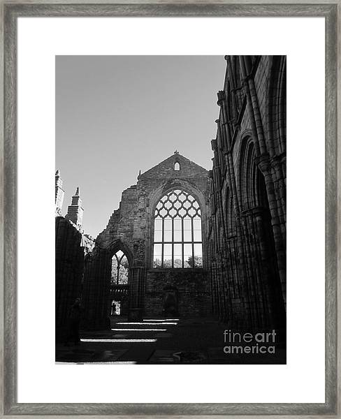 Holyroodhouse Framed Print