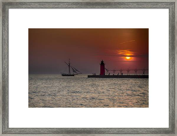 Home Bound Framed Print