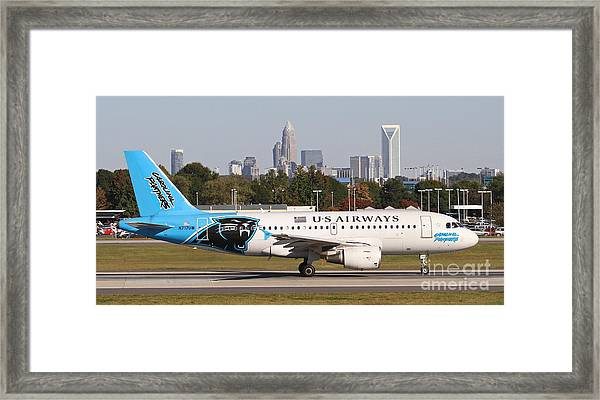 Home Of The Panthers Framed Print