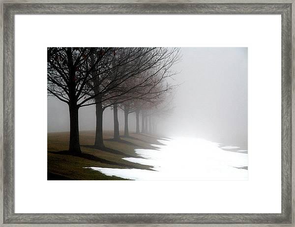 Home Road Framed Print
