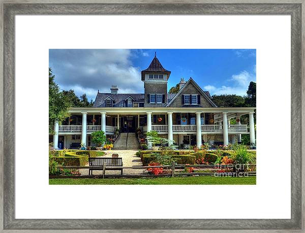 Framed Print featuring the photograph Home Sweet Home by Mel Steinhauer