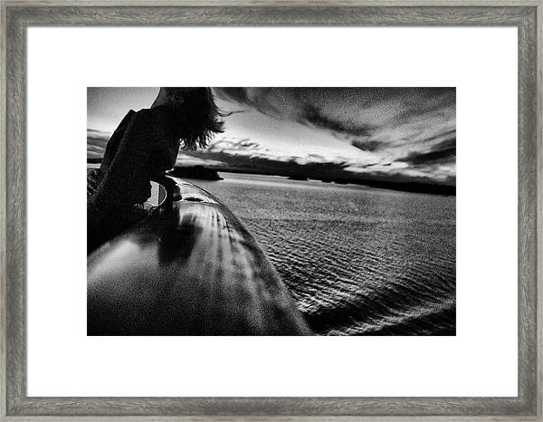 Homebound. Framed Print
