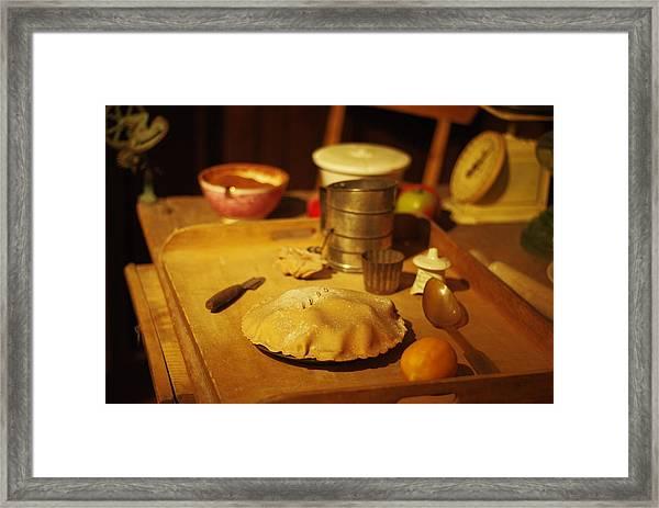 Homemade Pie Framed Print