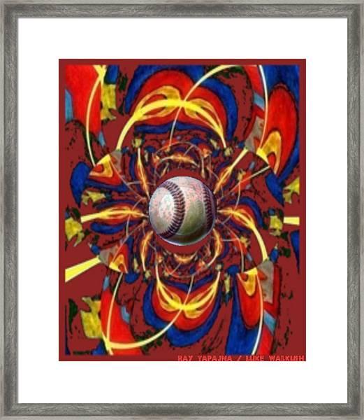 Homer Framed Print by Ray Tapajna