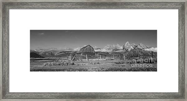 Homestead 101 Framed Print