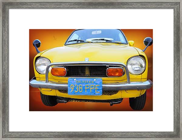 Honda Z600 Coupe I I Framed Print