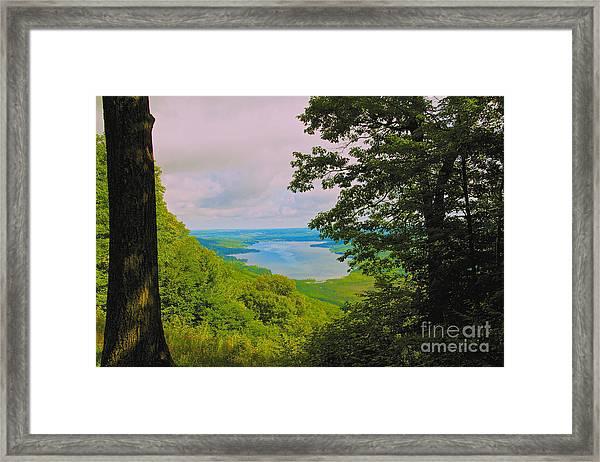 Honeoye Lake Framed Print