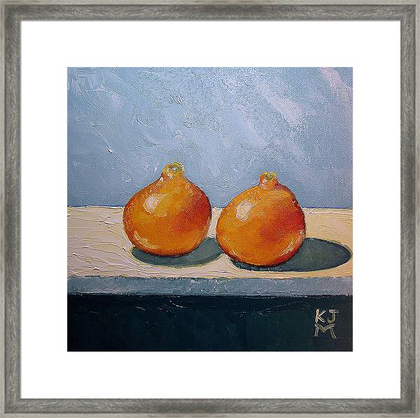 Honeybells - The Perfect Couple Framed Print