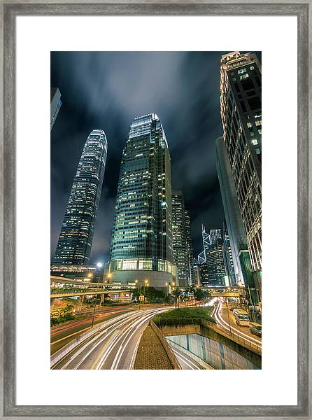 Hong Kong Central Framed Print